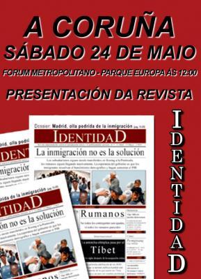 Presentación da revista IdentidaD na Coruña